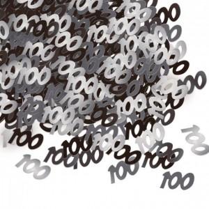 Scatter Confetti 100 Black/Silver Mix