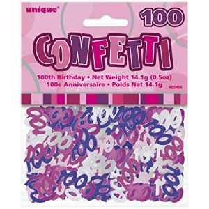 Scatter Confetti 100 Pink/Purple Mix