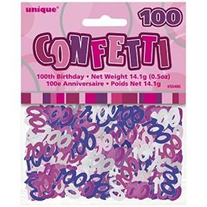 Scatter Confetti 100 Pink/Purple Mix