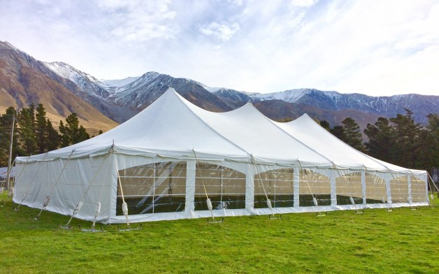 12 Metre Peg & Pole Marquees