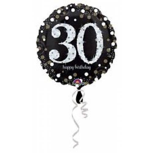 Foil Balloon 30th Birthday - Sparkling