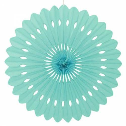 Tissue Paper Fan Mint - 40cm