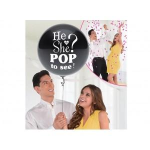 He or She Reveal Balloon - Girl