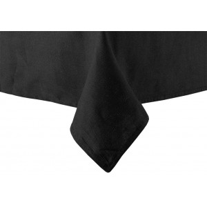 Linen Table Cloth, 135cm x 305cm Black