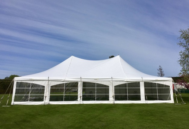9 Metre Peg & Pole Marquees
