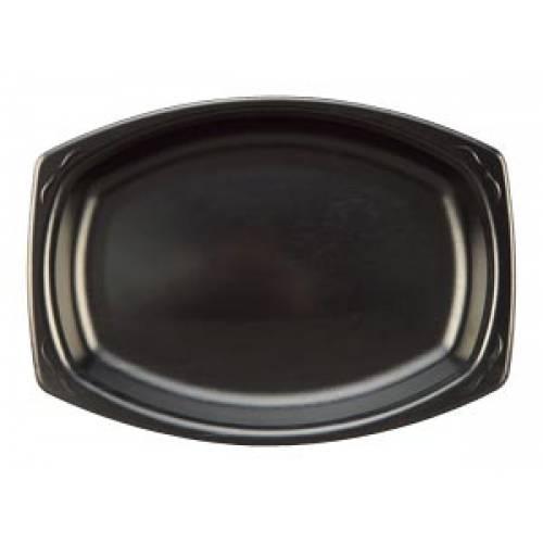 Black Foam Platters