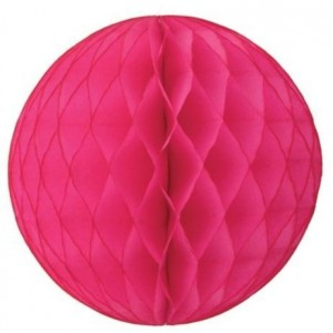 Honeycomb Ball Hot Pink 25cm