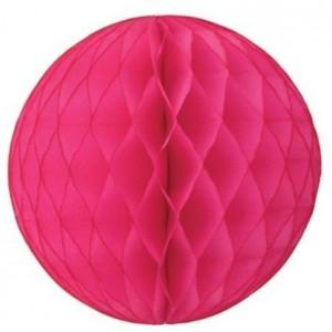 Honeycomb Ball Hot Pink 20cm
