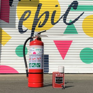 Marquee Fire Alarm & Extinguisher Set