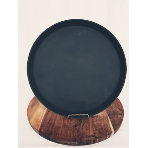 Non-Slip Serving Tray 35cm Round