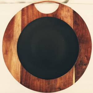 Coupe Plate 256mm - Charcoal