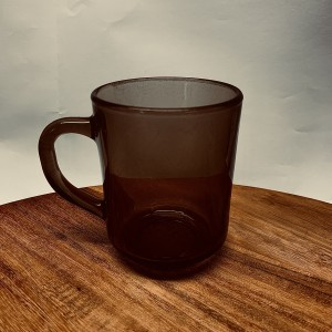 Coffee Mug Glass/Fume 250ml