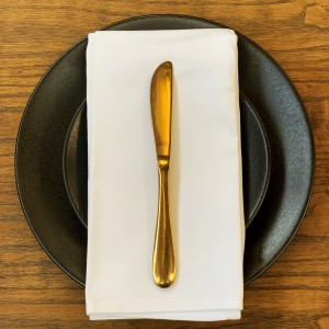 Gold Entree / Dessert Knife