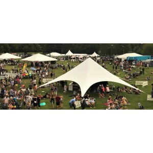 Large Star Marquee Shade Canopy