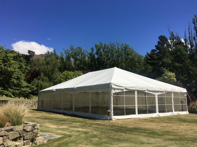 10m Frame Marquees