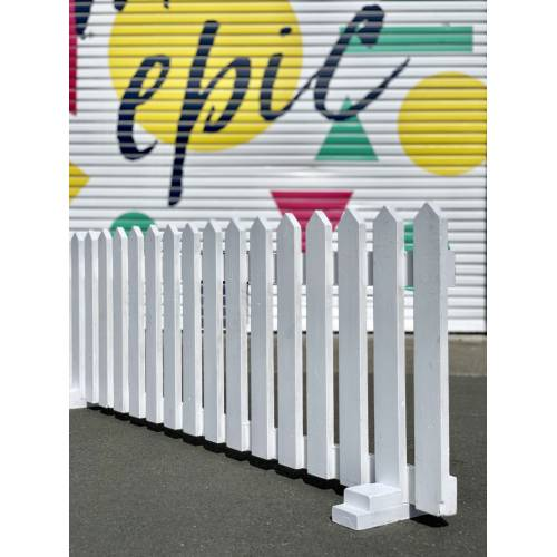 White Picket Fence 2m - 60cm
