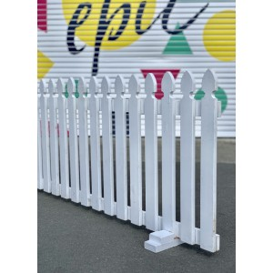 White Picket Fence 2m - 75cm