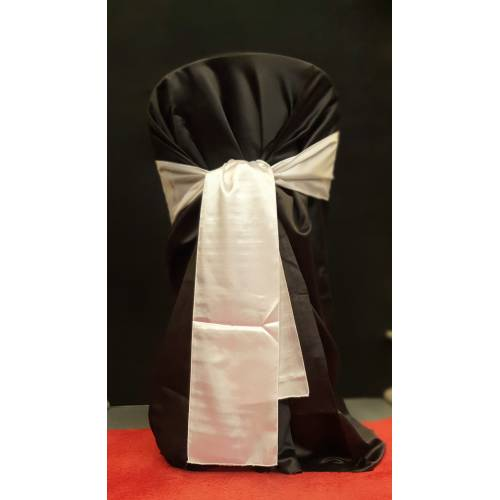 Chair Cover and Sash, Black