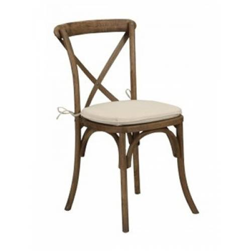 Rustic Cross Back Chair Hire