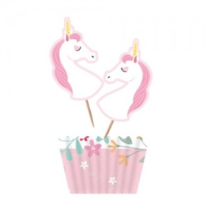 Unicorn Cupcake Kit 12pk