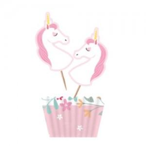 Unicorn Cupcake Kit 12pk