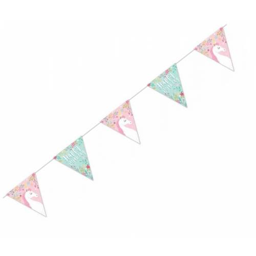 Unicorn Party Happy Birthday Bunting 1.9m