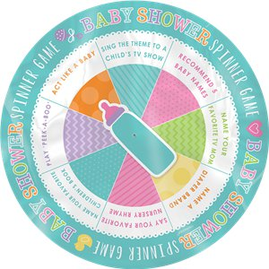 Baby Shower Game - Spin the Baby Bottle