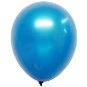 Balloons Metallic Blue Balloon
