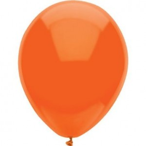 Orange Party Balloons
