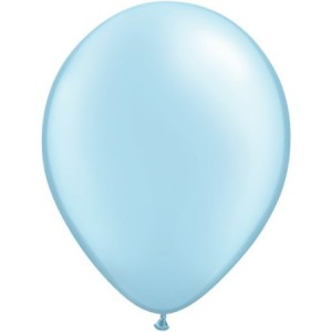 Pearl Blue Party Balloons