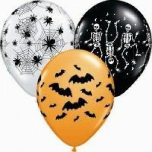 Spooky Halloween Balloons 8pk