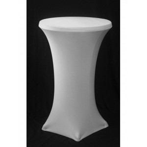 Bar leaner Cover - White