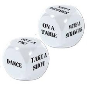 Bachelorette Decision Dice Game