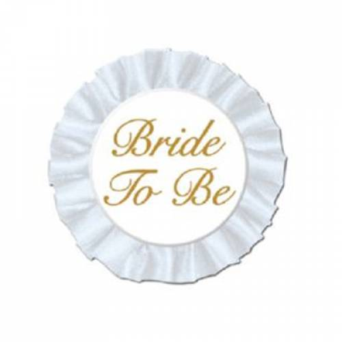 Bride to Be satin Badge