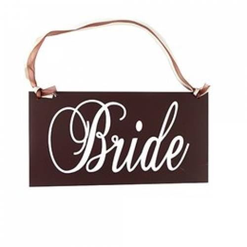 Bride - Wooden Sign