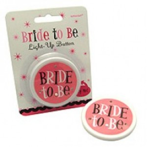 Bride To Be Flashing Badge