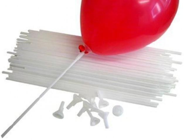 Balloon Sticks Cups Canes