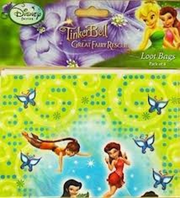 Fairies Tinkerbell Party Supplies
