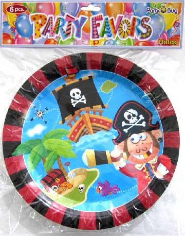 Pirate themed party supplies