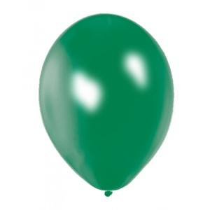 Balloons Metallic Green Balloon