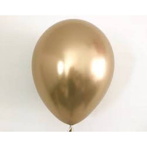 Balloon Single Chrome Gold