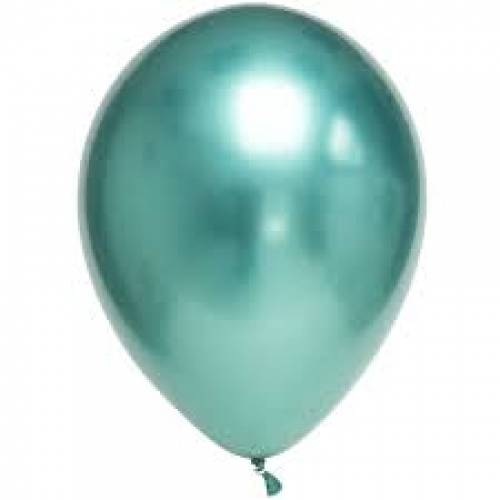Balloon Single Chrome Green