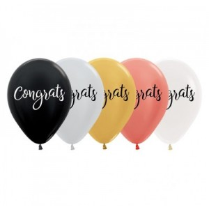 Balloon Single Congrats