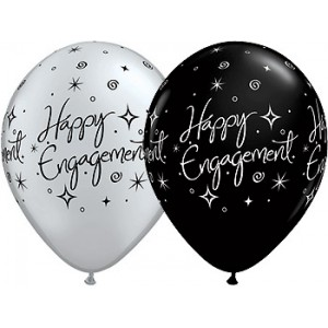 Balloon Single Happy Engagement Stars
