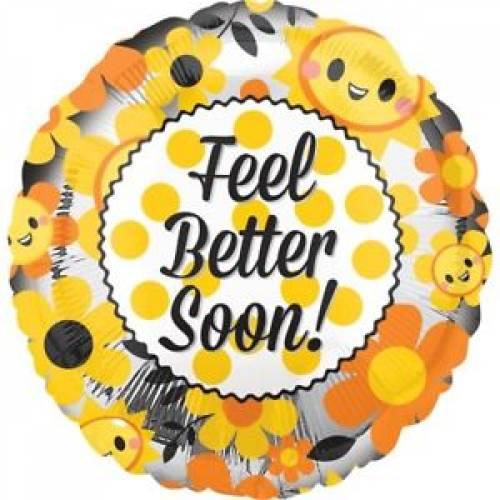 """Foil Balloon 18"""" Feel Better Soon"""
