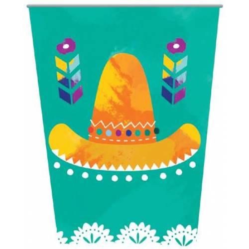 Fiesta Paper Cups 8pk