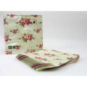 Lunch Napkins 15pk - Floral
