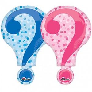 Foil Balloon Gender reveal '?'