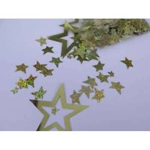 Scatter Confetti Star Large Gold