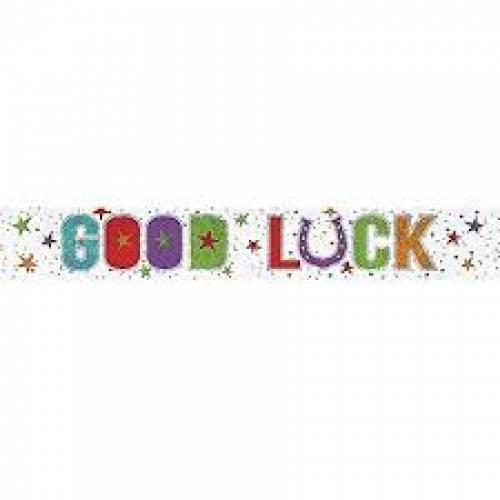 Banner Good Luck